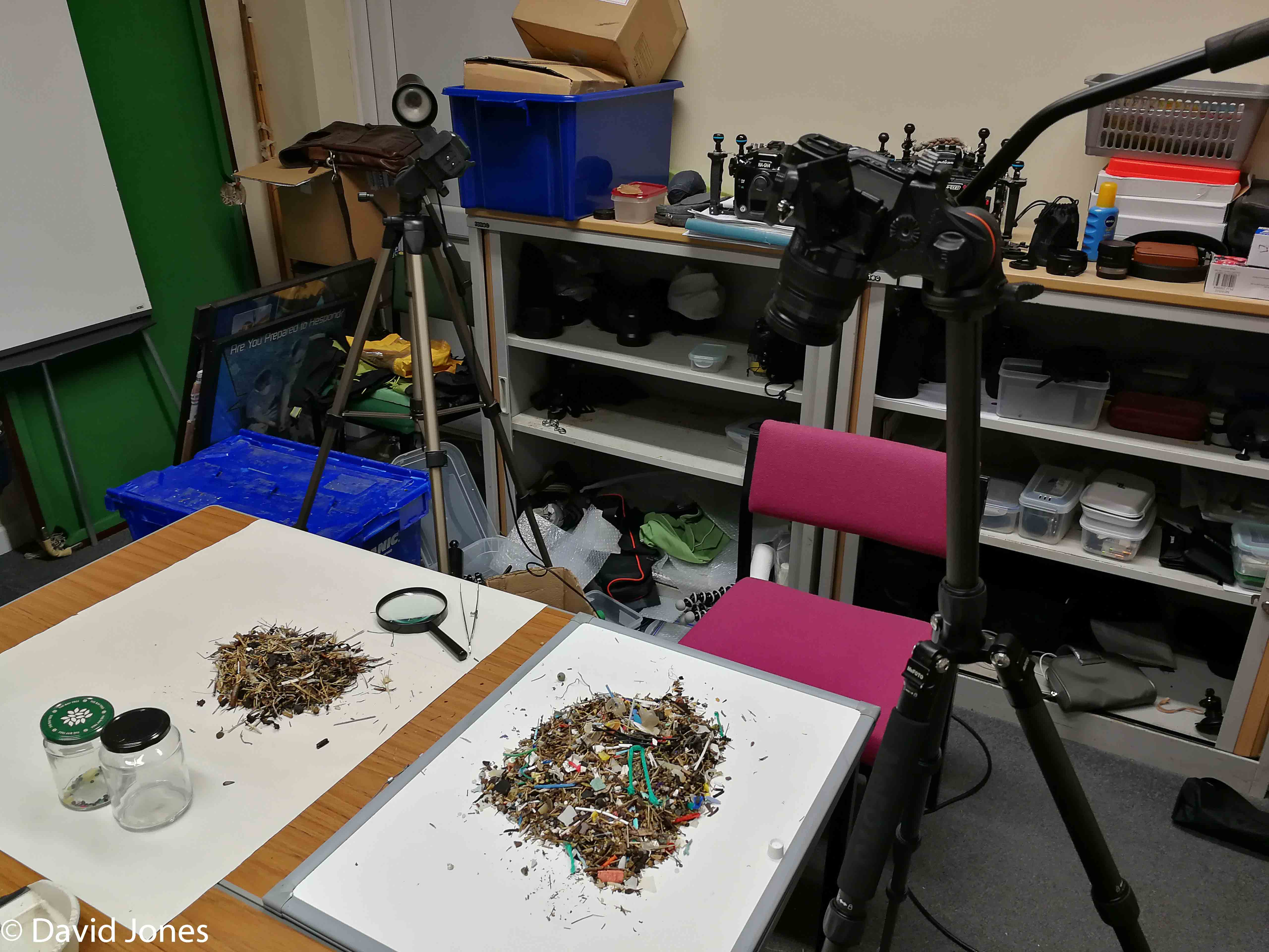 Sorting through the microplastics