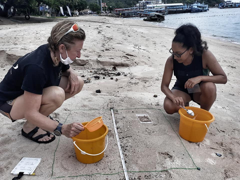 Eco Koh Tao getting to grips with microplastics